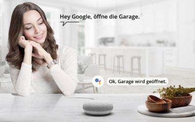 Smart Home mit AVS Alarmanlagen und Google Home
