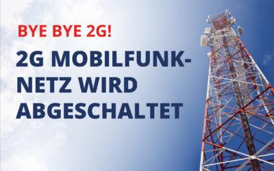 Abschaltung der 2G Mobilfunknetze in der Schweiz